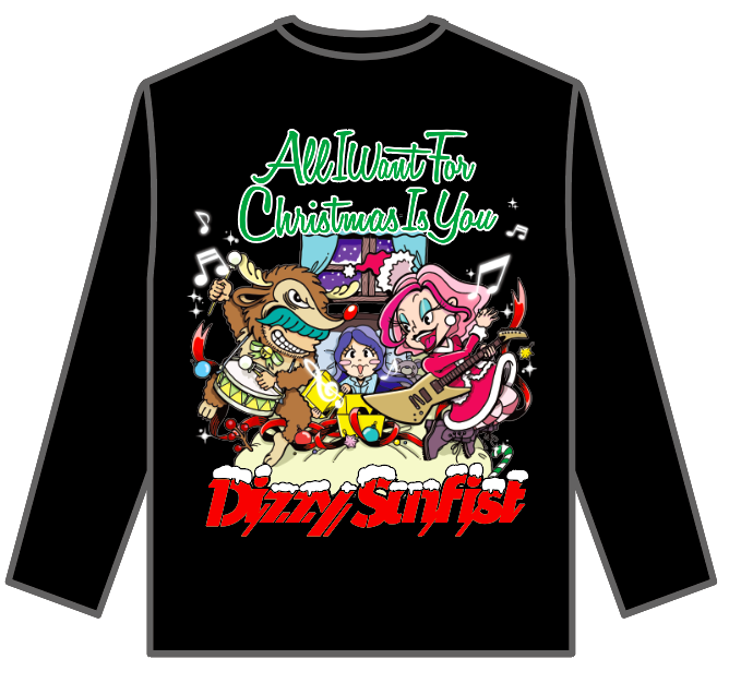 【Dizzy Sunfist】Christmas Special Long Sleeve T
