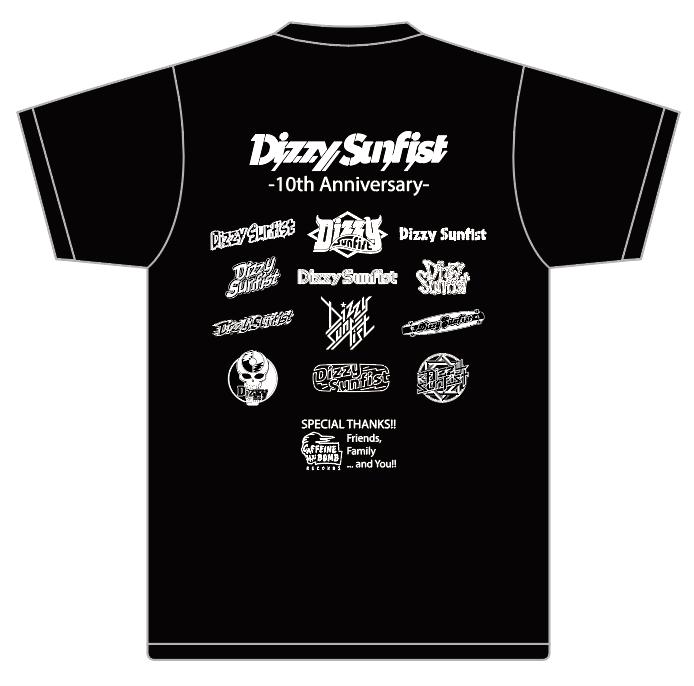 【Dizzy Sunfist】10th Anniversary Special Logo T
