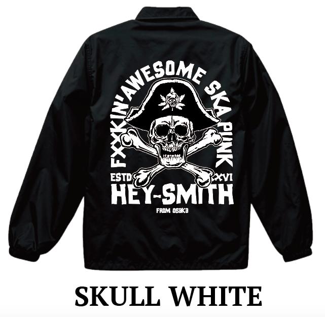 【HEY-SMITH】 SKULL COACH JACKET 2019※受注生産
