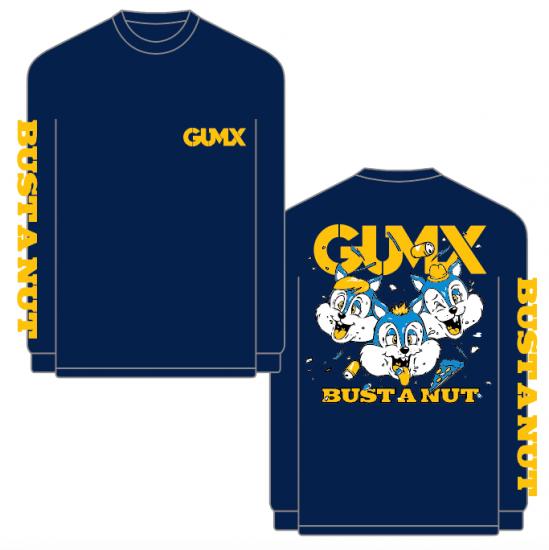 【GUMX】LONG SLEEVE T
