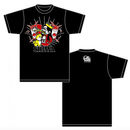 【SHIMA】BEER&DOG Tシャツ