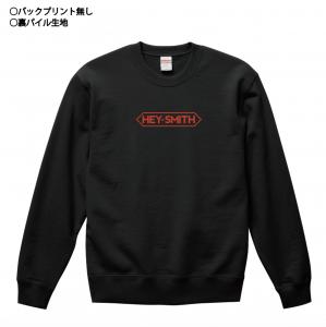 【HEY-SMITH】刺繍スウェット