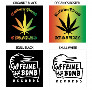 【CAFFEINE BOMB】防水ステッカー