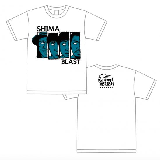 【SHIMA】FOUR FACES Tシャツ