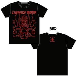 【CAFFEINE BOMB】CB OCTPUS Tシャツ