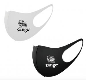 【CAFFEINE BOMB】rangeコラボエチケットマスク