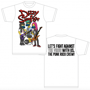 【Dizzy Sunfist】LET'S FIGHT AGAINST THE VIRUS WITH US T