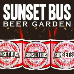 【SUNSET BUS】Beer Garden