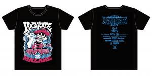【HAZIKETEMAZARE 2017】オフィシャルTシャツC