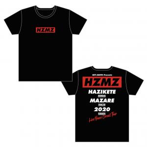 【HAZIKETEMAZARE TOUR】オフィシャルTシャツC