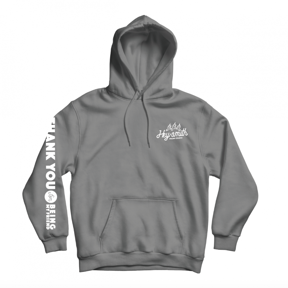 【HEY-SMITH】Thank You For Being My Friend pullover hoodie ※受注生産