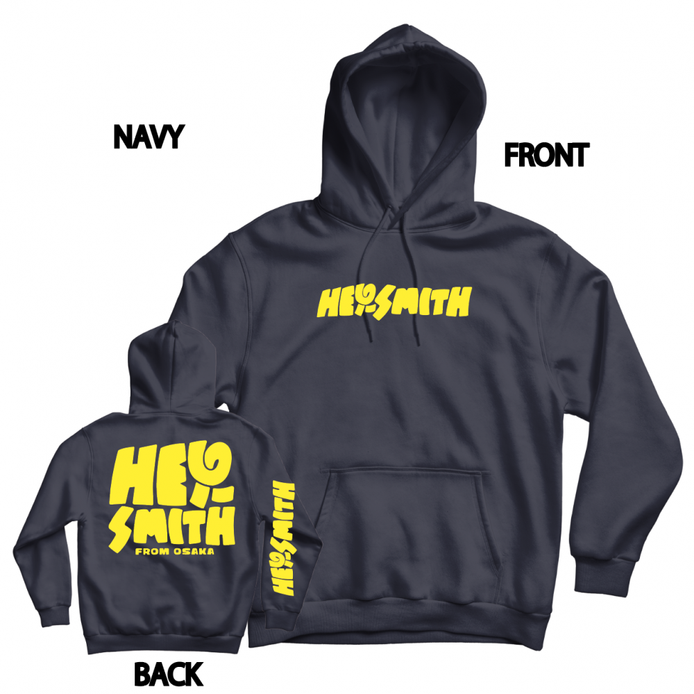【HEY-SMITH】POP LOGO pullover hoodie ※受注生産