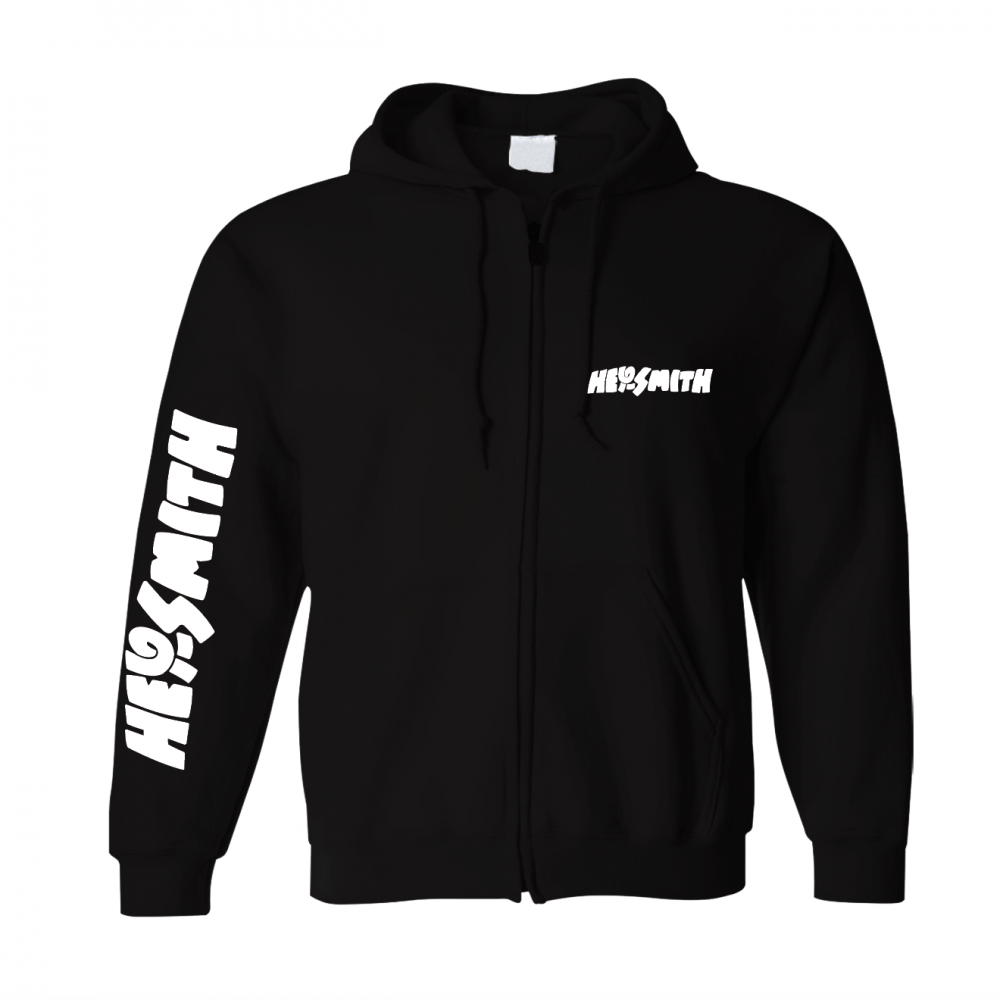 【HEY-SMITH】POP LOGO zip-up hoodie ※受注生産
