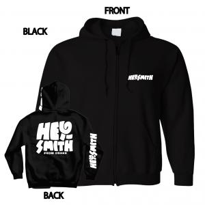 【HEY-SMITH】POP LOGO zip-up hoodie ※受注生産