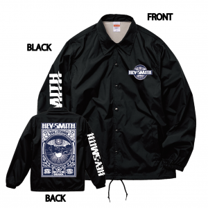 【HEY-SMITH】Fog And Clouds Coach Jacket ※受注生産