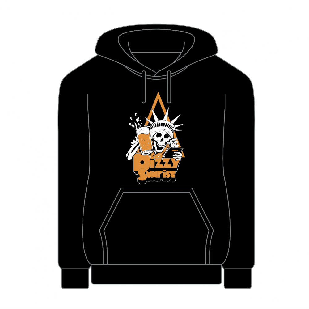 【Dizzy Sunfist】SKULL Cheers Pullover Hoodie