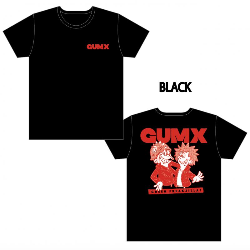 【GUMX】GREEN FREAKZILLA? Tシャツ