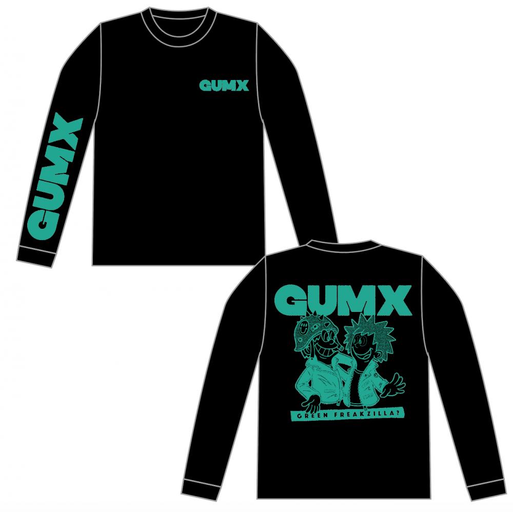 【GUMX】GREEN FREAKZILLA? ロンT