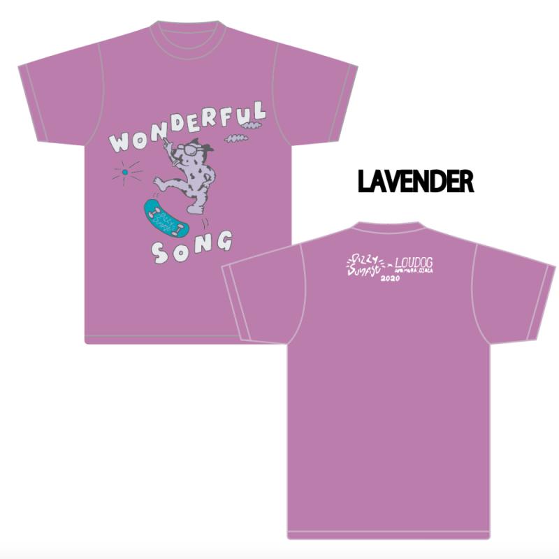【Dizzy Sunfist】LOUDOG Collaboration T-shirt