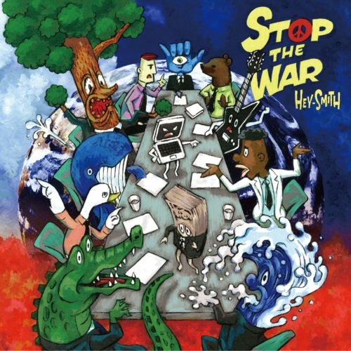 【HEY-SMITH】STOP THE WAR【初回限定盤】