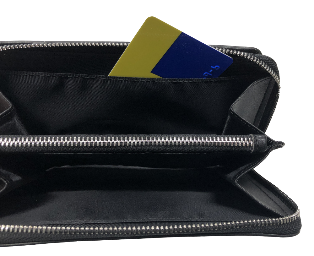 sd genuine leather wallet