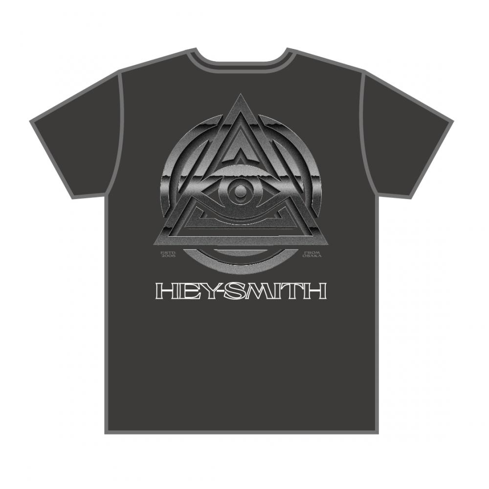 【HEY-SMITH】METALLIC EYE T