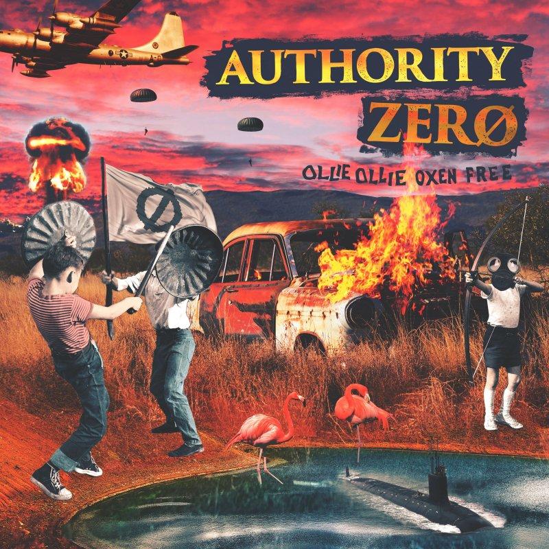 【AUTHORITY ZERO】Ollie Ollie Oxen Free【CD】