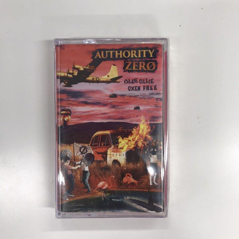 【AUTHORITY ZERO】Ollie Ollie Oxen Free【カセットテープ】
