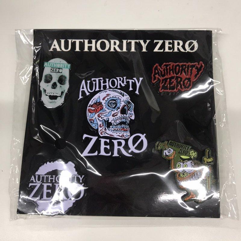 【AUTHORITY ZERO】ピンバッジセットA