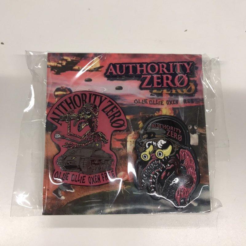 【AUTHORITY ZERO】ピンバッジセットB