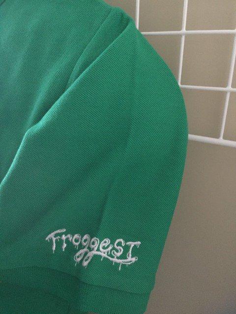 【FROGGEST】ポロシャツ