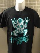 【FROGGEST】ロゴT�(body:CROOS&STITCH)