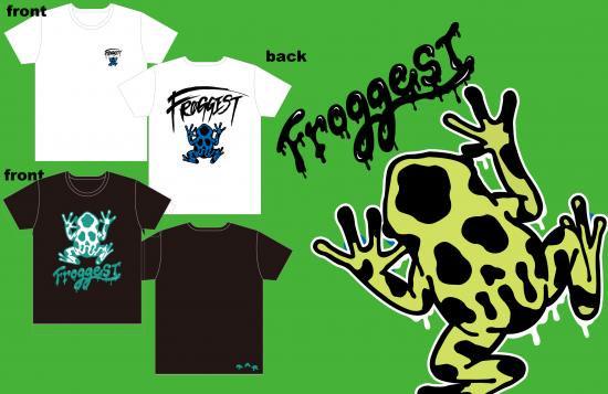 【FROGGEST】ロゴT�(body:TRUSS)