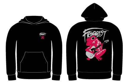 【ギターFROGGEST】pull over hoody