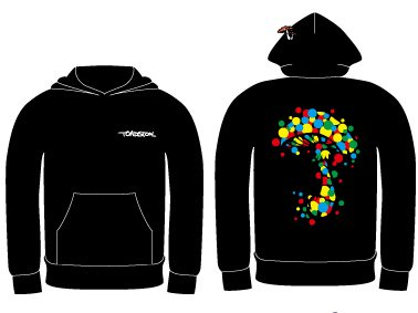【TOADSTOOL】COLOR DOT pul over hoody