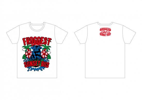 【SUNSET BUS】FROGGESTコラボTシャツ