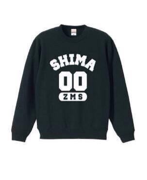 【SHIMA】ZMSスウェット