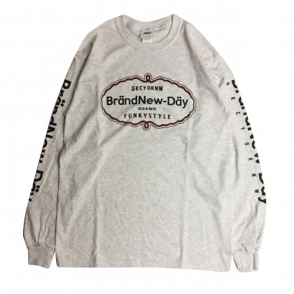 GKCY[BrandNewDay Long TEE]ASH