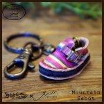 Mountain Sabot Key Holder マウンテンサボキーホルダー(牛染色革)カラー005