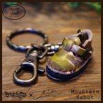 Mountain Sabot Key Holder マウンテンサボキーホルダー(牛染色革)カラー008