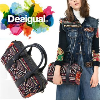 <img class='new_mark_img1' src='//img.shop-pro.jp/img/new/icons20.gif' style='border:none;display:inline;margin:0px;padding:0px;width:auto;' />◇SALE◇Desigual 2WAYボストンバッグ BolsMalatPia(NAVY)ハンド&ショルダー