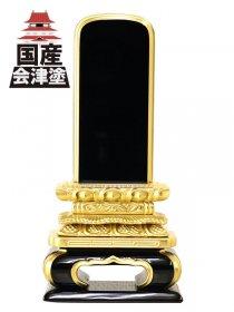 【会津位牌】猫丸 上塗 (3.0寸〜6.0寸)