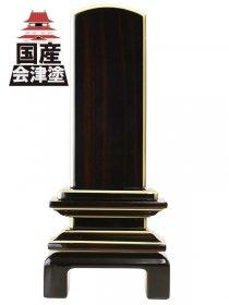 【会津唐木漆位牌】京の梅 黒檀 (3.5寸〜5.0寸)