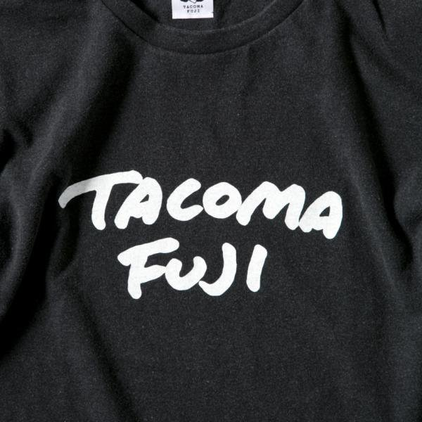 TACOMA FUJI HANDWRITING Tee designed by Tomoo Gokita