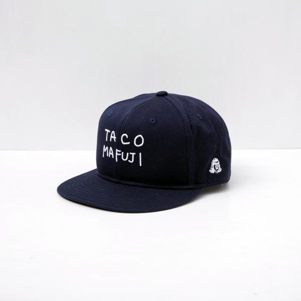 TACO MAFUJI cap designed by Ken Kagami