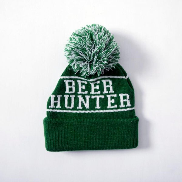 BEER HUNTER POM-POM BEANIE