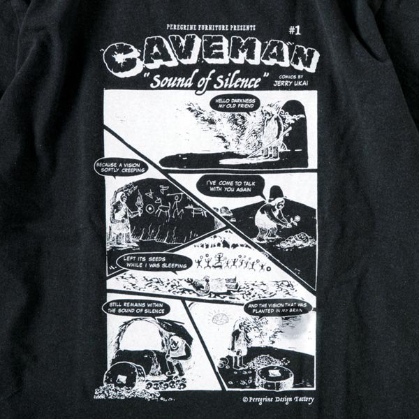 CAVEMAN designed by Jerry UKAI