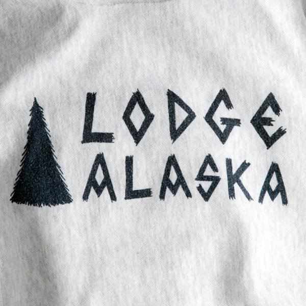 Lodge ALASKA HOODIE (12oz) designed by Matt Leines
