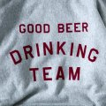GOOD BEER DRINKING TEAM HOODIE (12oz) designed by Shuntaro Watanabe & TACOMA FUJI RECORDS