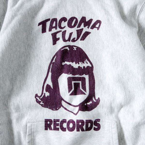 TACOMA FUJI RECORDS LOGO HOODIE (12oz)designed by Tomoo Gokita